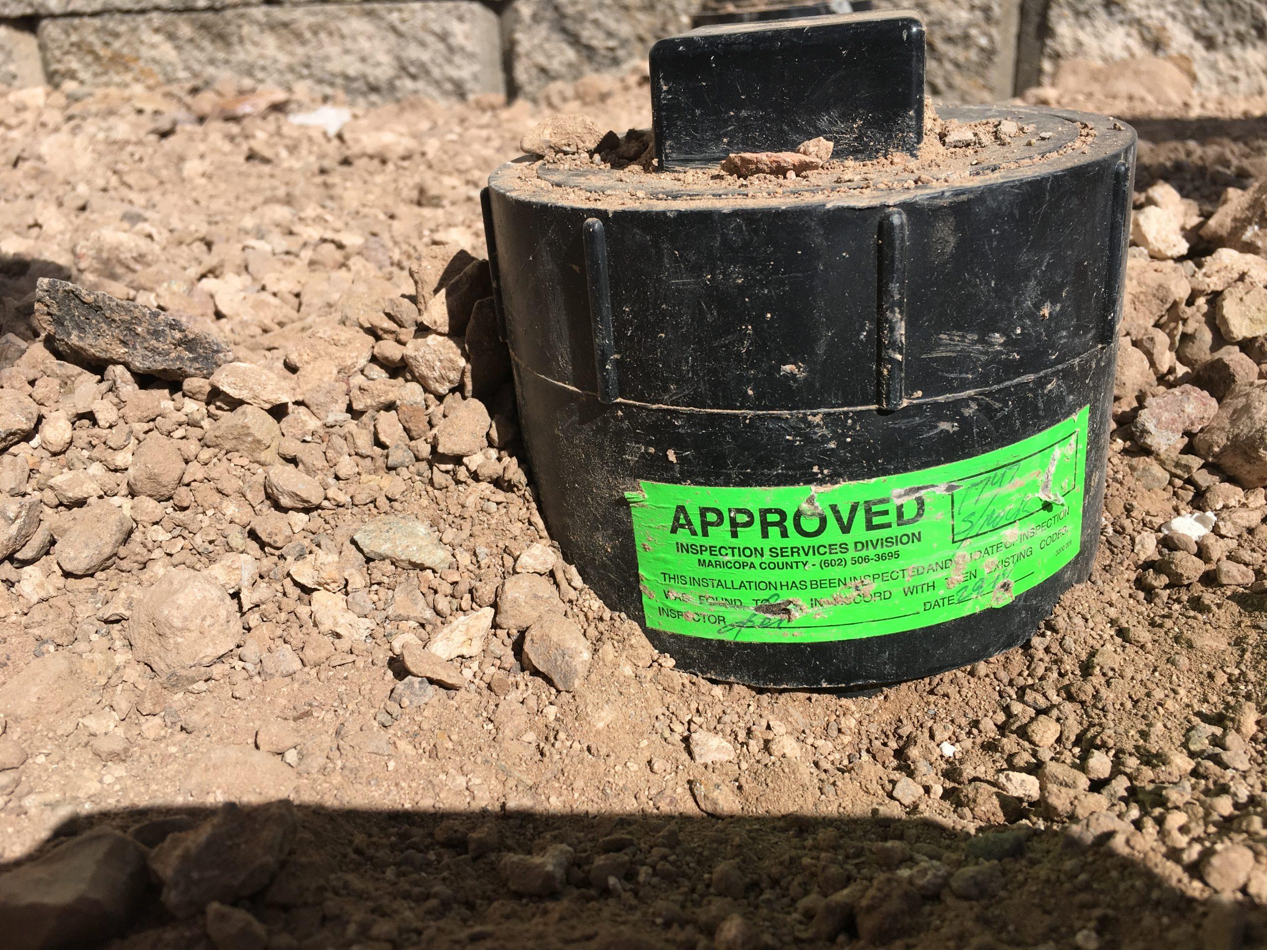 new drain sewer line installation Phoenix